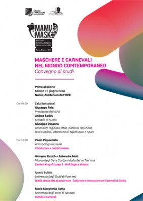 Il progetto Carnival King of Europe partecipa a MaMuMask