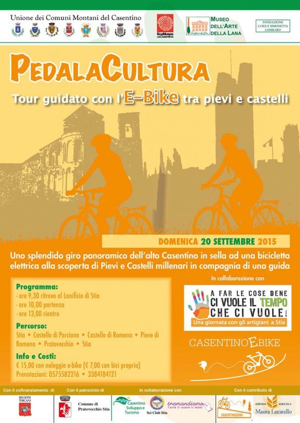 PEDALACULTURA - Tour guidato con l'E-Bike tra pievi e castelli