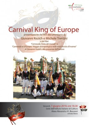 Il progetto Carnival King of Europe a Bucarest