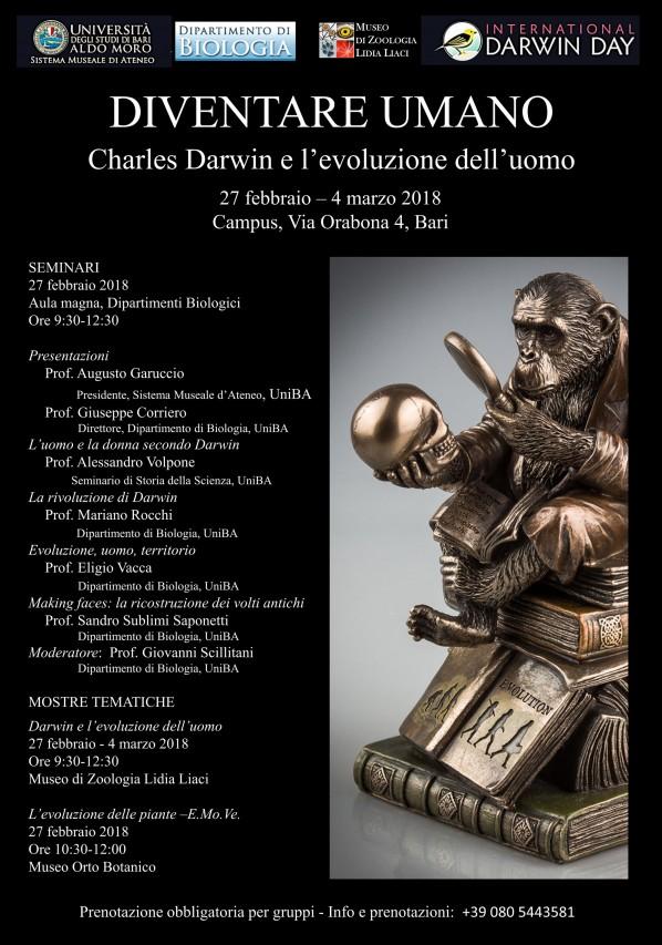 Diventare Umano: Charles Darwin e l'evoluzione dell'uomo