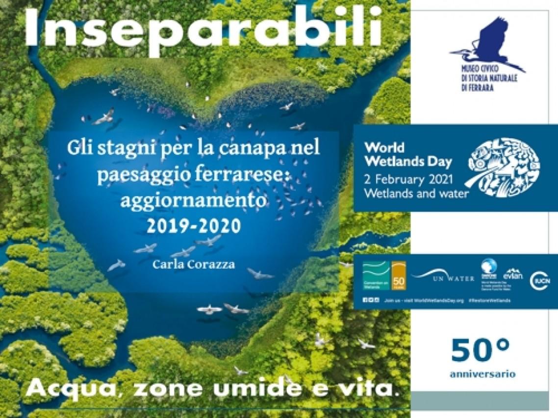 Giornata Mondiale delle Zone Umide: nuova cartografia dei maceri del Ferrarese