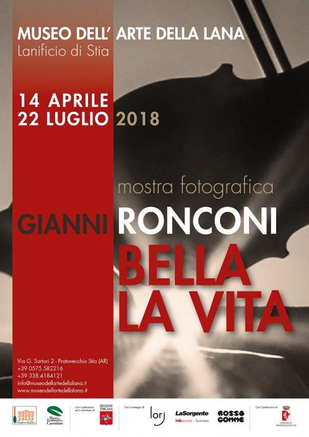 BELLA LA VITA. Mostra fotografica di Gianni Ronconi