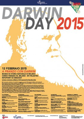 DARWIN DAY 2015 - A PRANZO CON DARWIN