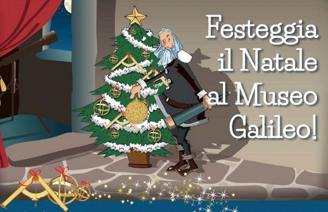Festeggia il Natale al Museo Galileo!