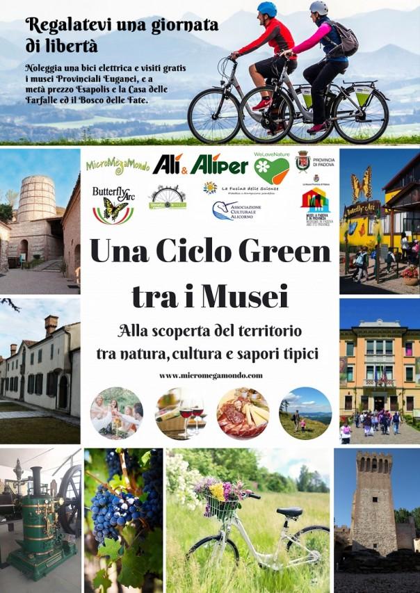 UNA CICLO-GREEN EUGANEA  TRA I MUSEI