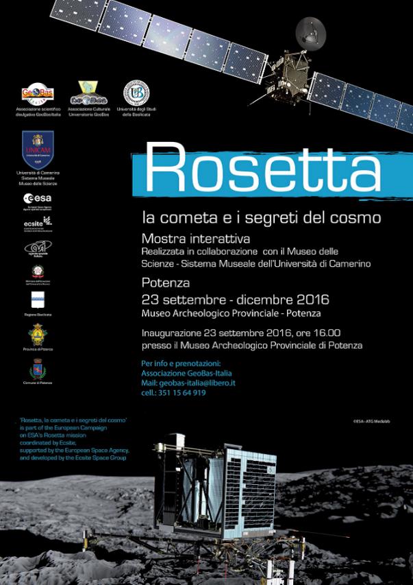Rosetta, la cometa e i segreti del cosmo