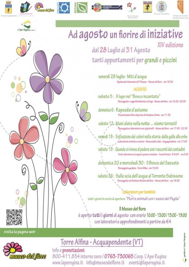 Agosto al Museo del fiore