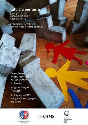 Inaugurazione installazione artistica nell'ambito degli Open Days del DSA3 a San Pietro Perugia