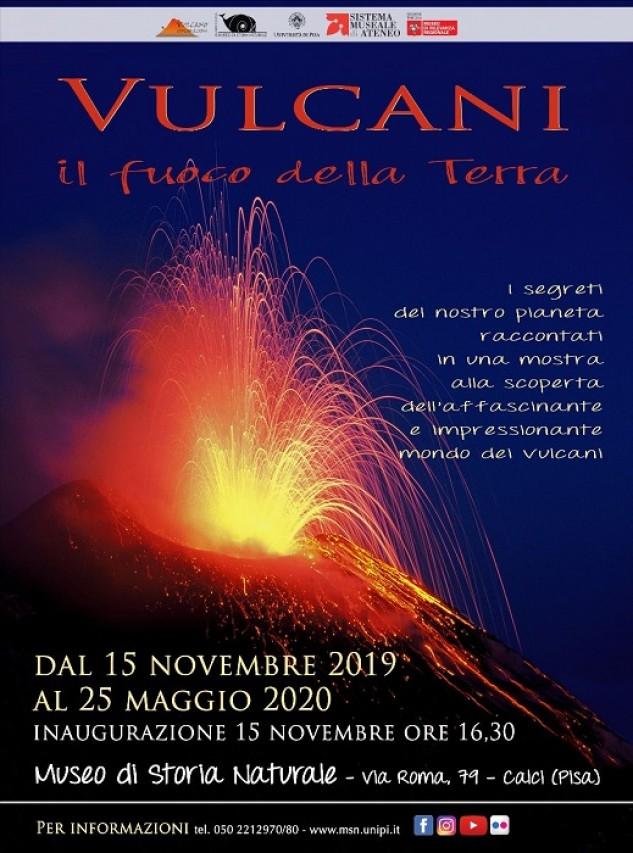 """Inaugurazione esposizione temporanea """"Vulcani. Il fuoco della Terra"""