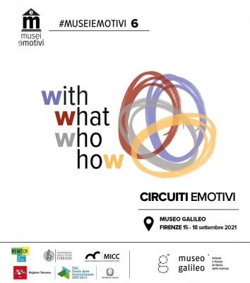 Training Formativo MuseiEmotivi - Sesta Edizione