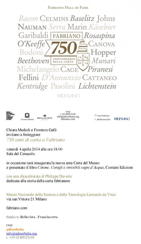 750 anni di carta a Fabriano