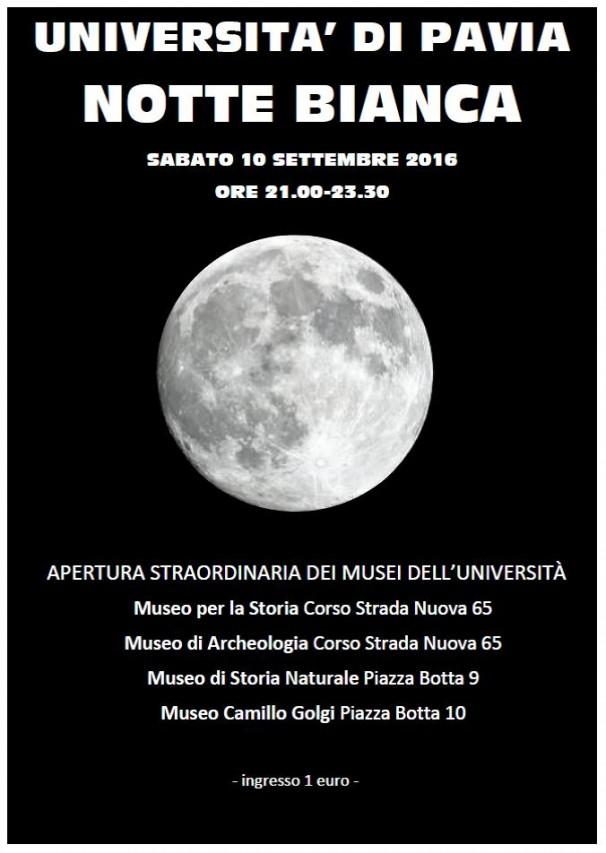 Notte Bianca a Pavia!