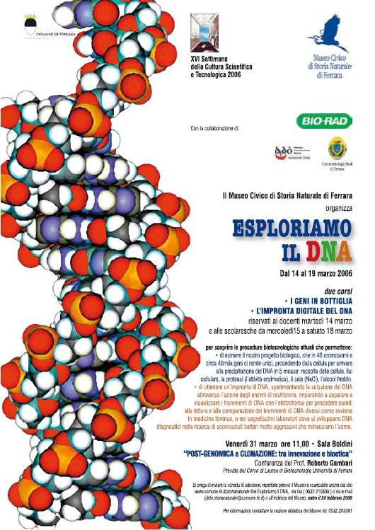 ESPLORIAMO IL DNA