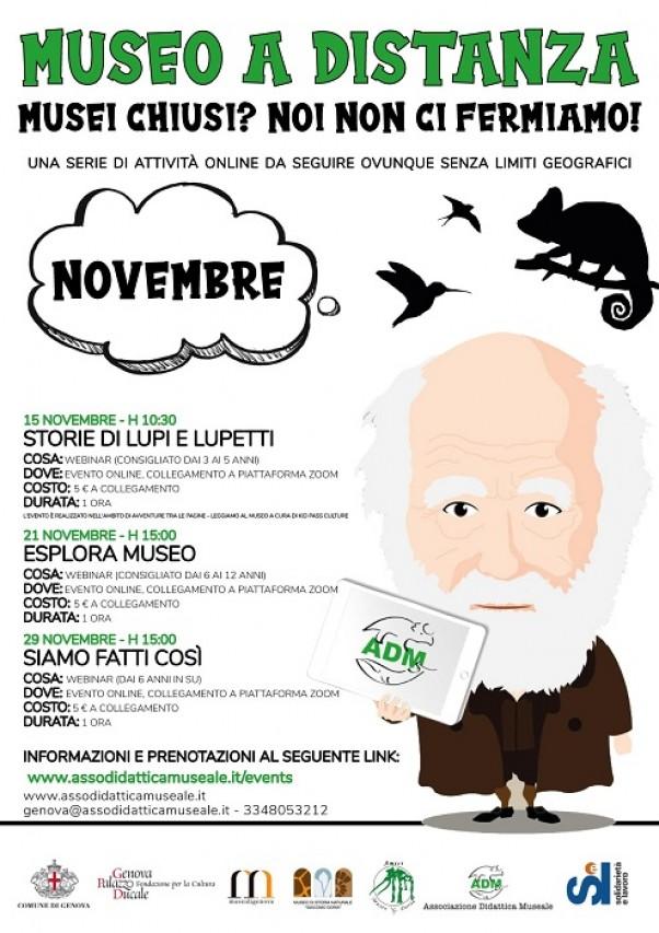 Attività (a distanza) per bambini e famiglie a cura di ADM Genova