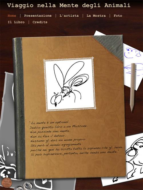 Viaggio nella mente degli animali -Mostra di disegni del Prof. Danilo Mainardi