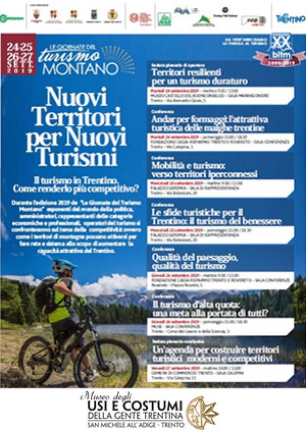 Il Museo partecipa alla XX edizione della Bitm - Le Giornate del Turismo Montano