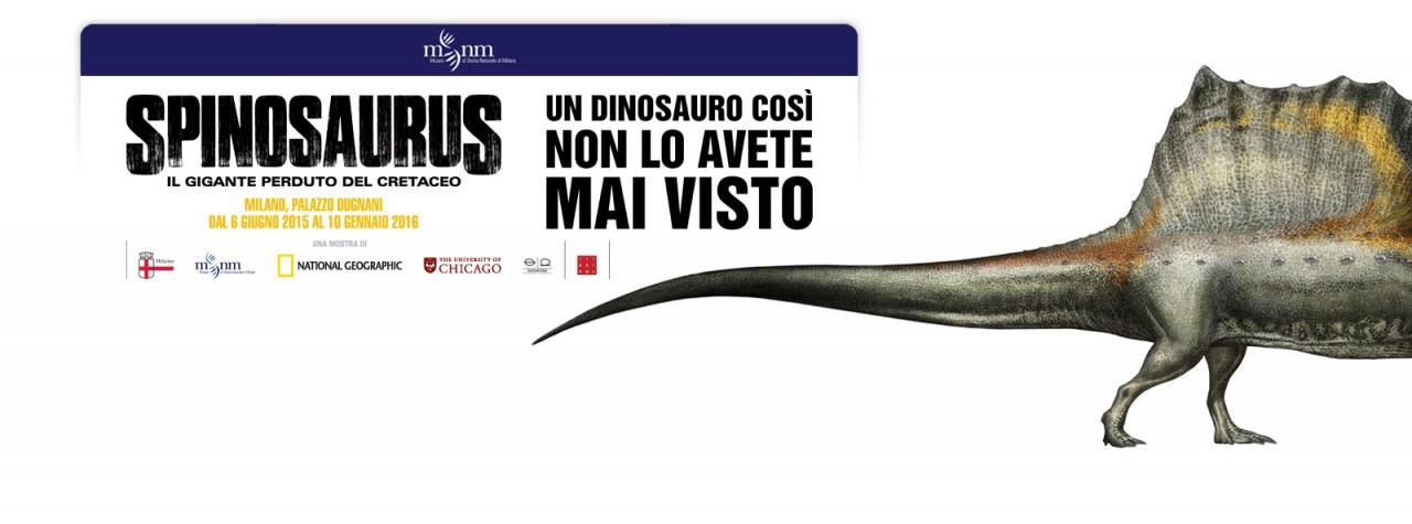 SPINOSAURUS - IL GIGANTE DEL PASSATO