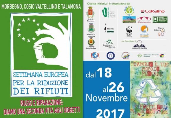 SETTIMANA EUROPEA PER LA RIDUZIONE DEI RIFIUTI (SERR 2017)