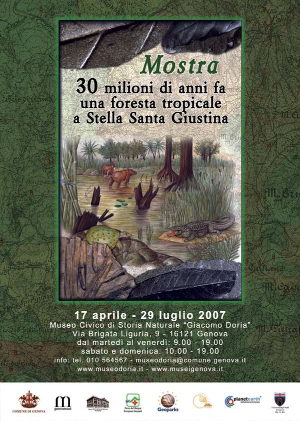 30 milioni di anni fa una foresta tropicale a Stella Santa Giustina