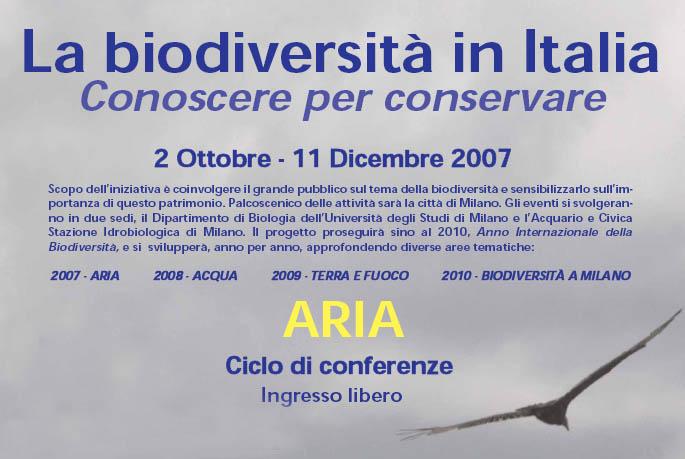 La biodiversità in Italia - Conoscere per conservare