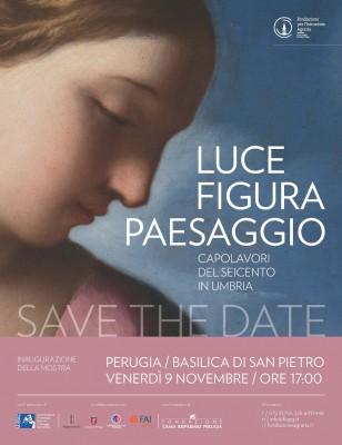Luce Figura Paesaggio. Capolavori del Seicento in Umbria