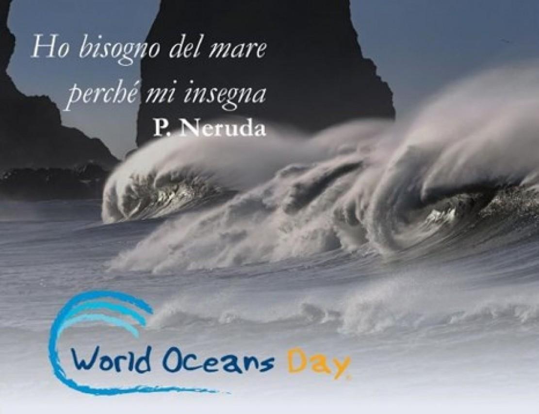 WORLD OCEANS DAY. TRA TERRA E MARE L'OCEANO A FERRARA