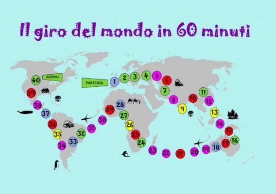Il giro del mondo in 60 minuti