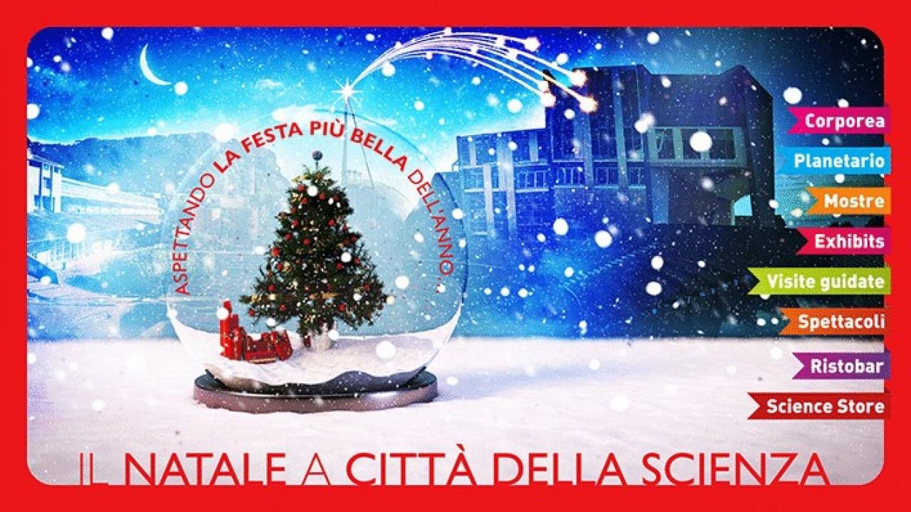 Natale a Città della Scienza