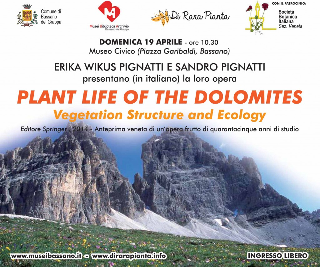 Plant Life of the Dolomites Vegetation Structure and Ecology