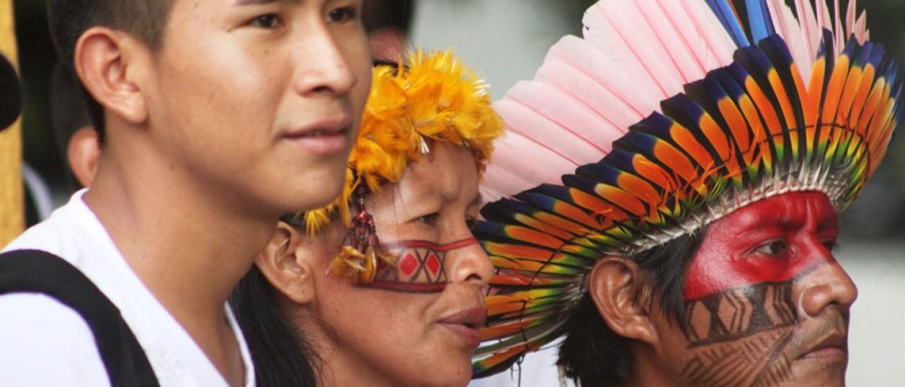 Incontro con gli indigeni di Roraima (Brasile)