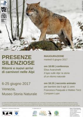 PRESENZE SILENZIOSE - Ritorni e nuovi arrivi di carnivori nelle Alpi