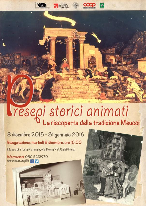 Inaugurazione del presepe storico animato Meucci!