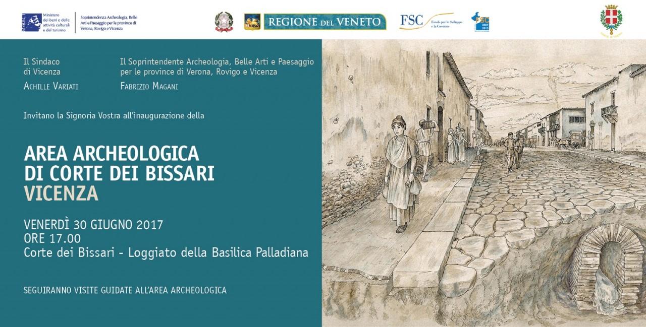 INAUGURAZIONE DELL'AREA ARCHEOLOGICA DI CORTE DEI BISSARI