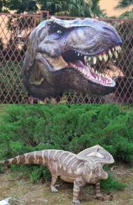 Jurassic Orto - Mostra di dinosauri a grandezza naturale