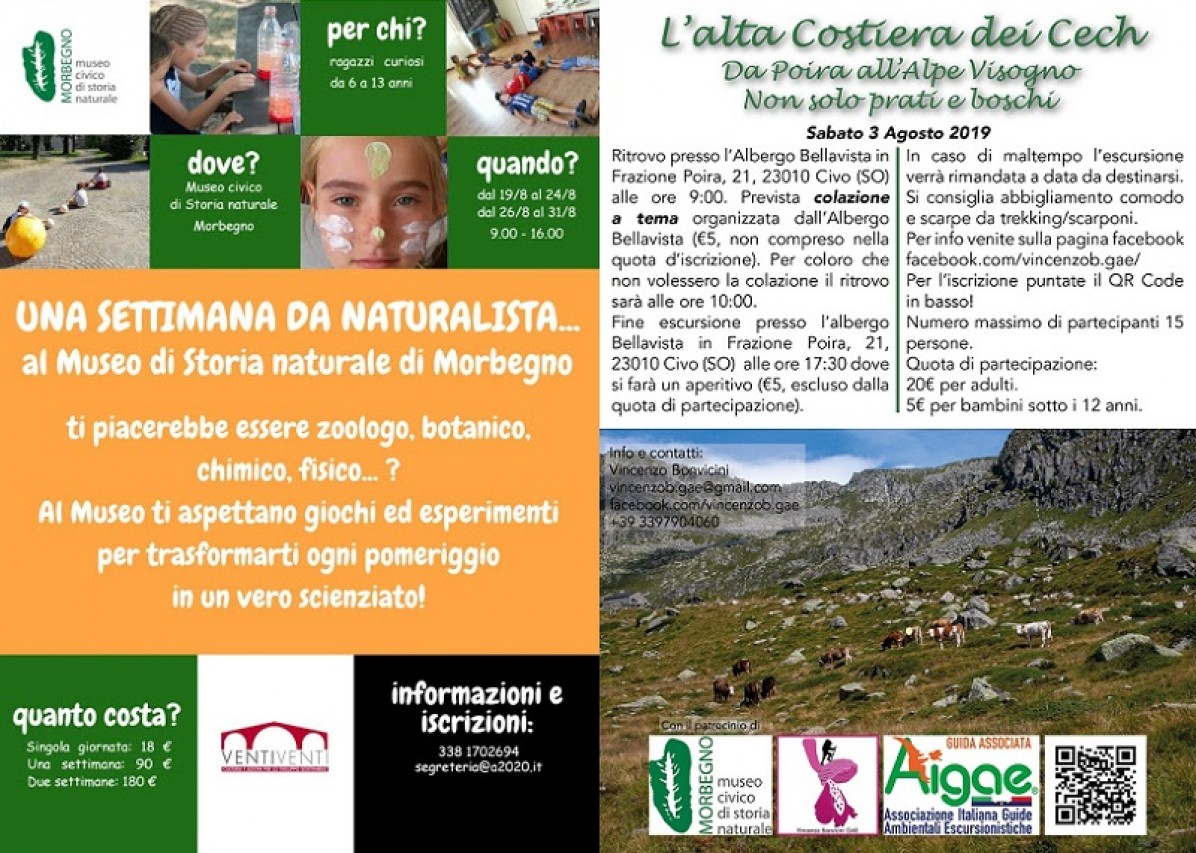 Una settimana da Naturalista - Escursione da Poira