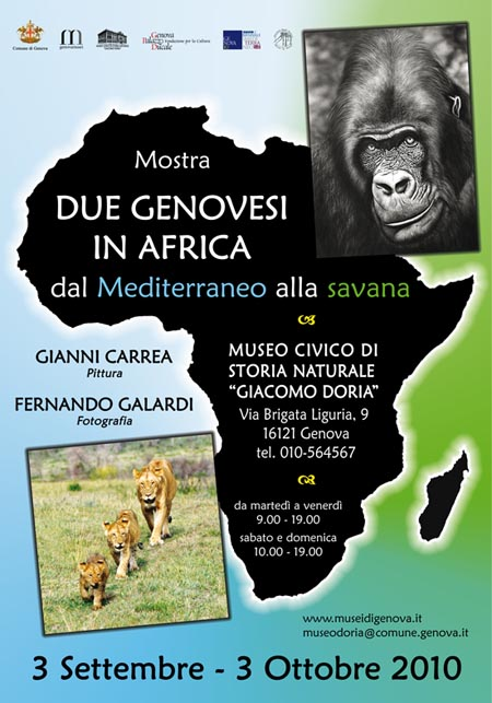 Due Genovesi in Africa  dal Mediterraneo alla Savana