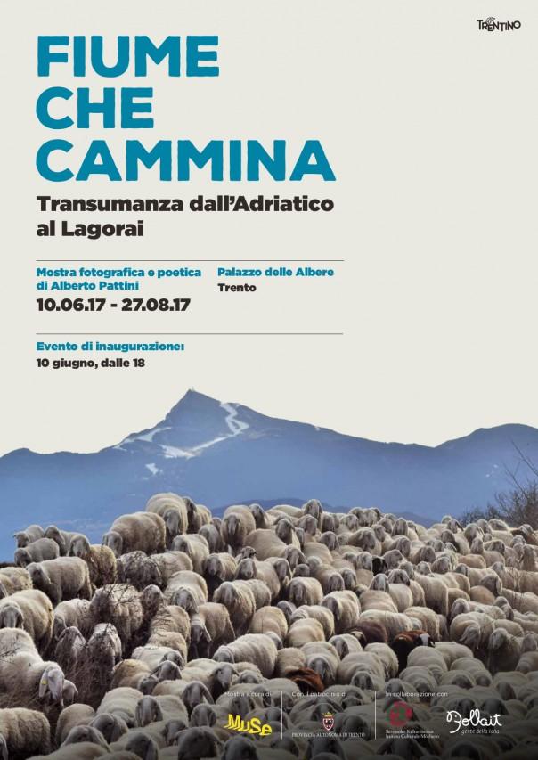 FIUME CHE CAMMINA - Transumanza dall'Adriatico al Lagorai