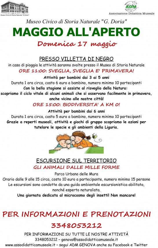 MAGGIO ALL'APERTO PRESSO VILLETTA DI NEGRO