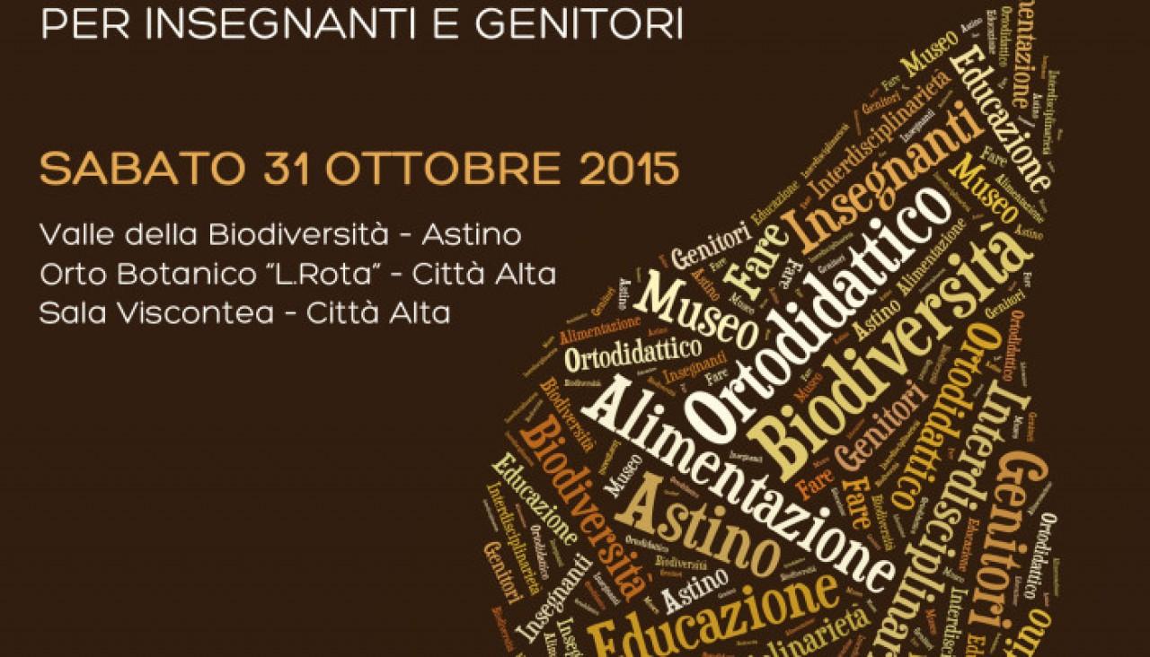 OPEN DAY all'Orto Botanico di Bergamo
