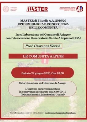 Le comunità alpine nella prospettiva degli antropologi ad Asiago