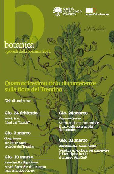 I giovedì della Botanica 2011