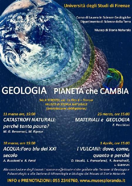 GEOLOGIA PIANETA CHE CAMBIA