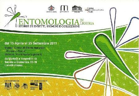 Entomologia inLiguria. Storie di insetti, uomini e collezioni.