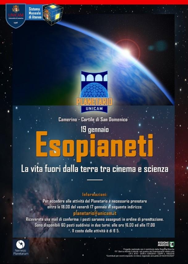 ESOPIANETI. La vita fuori dalla terra tra cinema e scienza