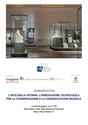 L'arte della vetrina. L'innovazione tecnologica per la conservazione e la comunicazione museale