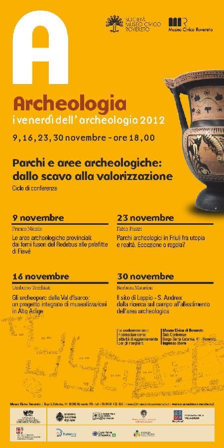 I venerdì dell'Archeologia 2012