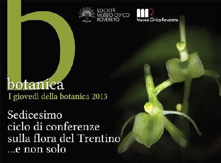 I giovedì della Botanica 2013