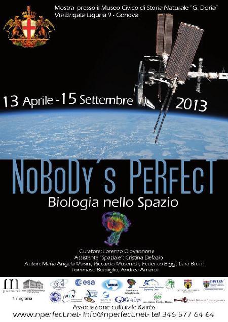 NOBODY'S PERFECT - BIOLOGIA NELLO SPAZIO