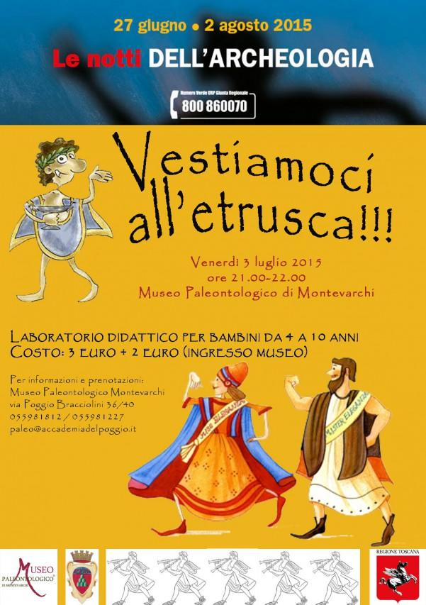 Vestiamoci all'etrusca!