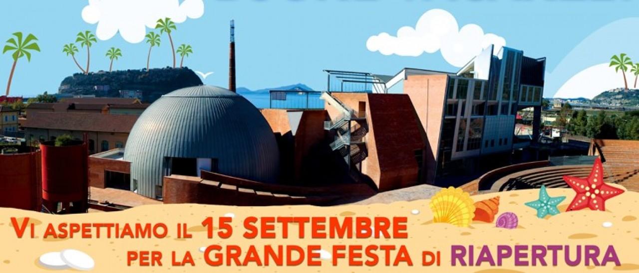 GRANDE FESTA DI RIAPERTURA